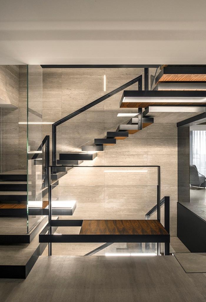 balizroom-studiolipparini-pechino-casa-shadowcreek-scala-palissandro-metallo